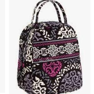 Vera bradley canterberry magenta lunch box bag